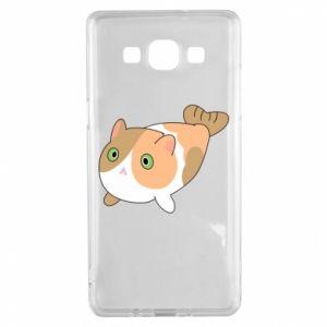 Etui na Samsung A5 2015 Red cat mermaid