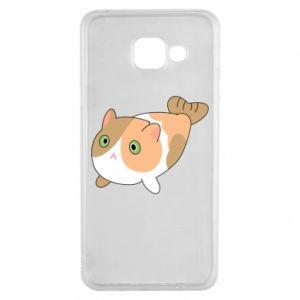 Etui na Samsung A3 2016 Red cat mermaid