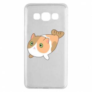 Etui na Samsung A3 2015 Red cat mermaid
