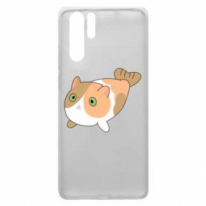 Etui na Huawei P30 Pro Red cat mermaid
