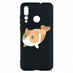 Etui na Huawei Nova 4 Red cat mermaid