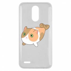 Etui na Lg K10 2017 Red cat mermaid