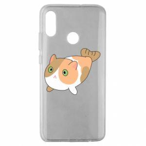 Etui na Huawei Honor 10 Lite Red cat mermaid