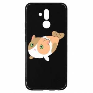 Etui na Huawei Mate 20 Lite Red cat mermaid