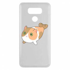 Etui na LG G6 Red cat mermaid