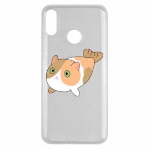 Etui na Huawei Y9 2019 Red cat mermaid