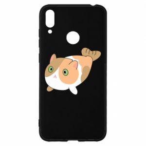 Etui na Huawei Y7 2019 Red cat mermaid