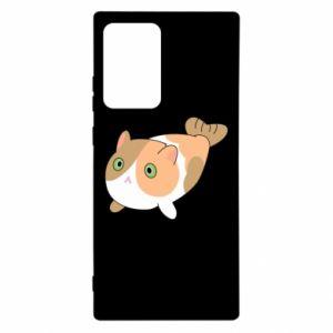 Etui na Samsung Note 20 Ultra Red cat mermaid