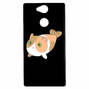 Etui na Sony Xperia XA2 Red cat mermaid