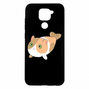 Etui na Xiaomi Redmi Note 9/Redmi 10X Red cat mermaid