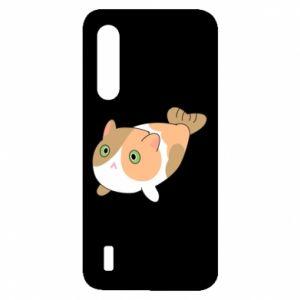 Etui na Xiaomi Mi9 Lite Red cat mermaid
