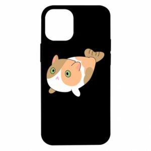 Etui na iPhone 12 Mini Red cat mermaid