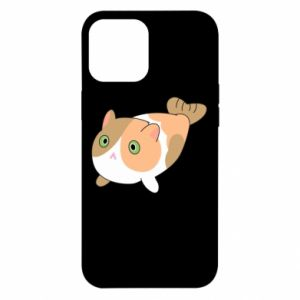 Etui na iPhone 12 Pro Max Red cat mermaid