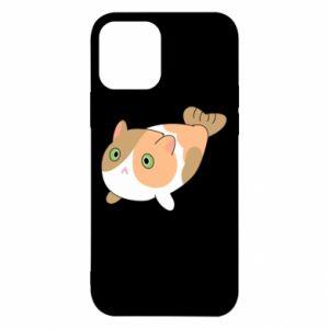 Etui na iPhone 12/12 Pro Red cat mermaid