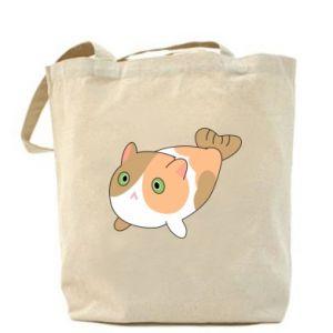 Bag Red cat mermaid - PrintSalon