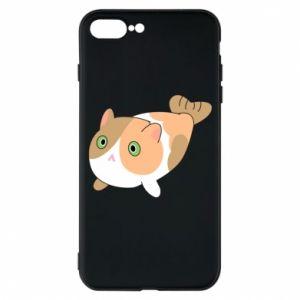 Phone case for iPhone 7 Plus Red cat mermaid - PrintSalon
