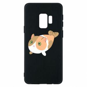 Phone case for Samsung S9 Red cat mermaid - PrintSalon
