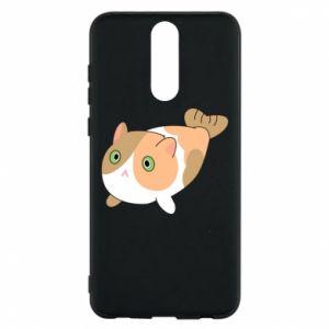 Phone case for Huawei Mate 10 Lite Red cat mermaid - PrintSalon