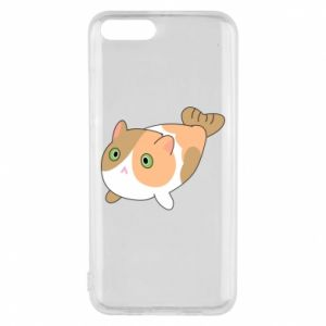 Phone case for Xiaomi Mi6 Red cat mermaid - PrintSalon