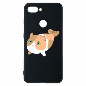 Phone case for Xiaomi Mi8 Lite Red cat mermaid - PrintSalon