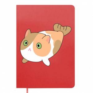 Notes Red cat mermaid