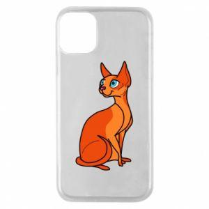 Etui na iPhone 11 Pro Red eared cat