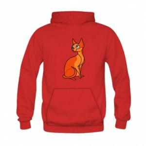 Bluza z kapturem dziecięca Red eared cat