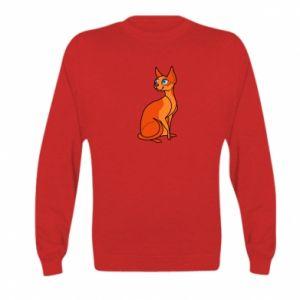 Bluza dziecięca Red eared cat