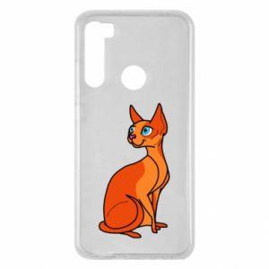 Etui na Xiaomi Redmi Note 8 Red eared cat