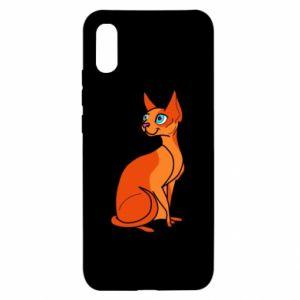 Etui na Xiaomi Redmi 9a Red eared cat