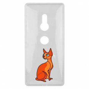 Etui na Sony Xperia XZ2 Red eared cat