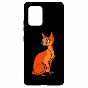 Etui na Samsung S10 Lite Red eared cat