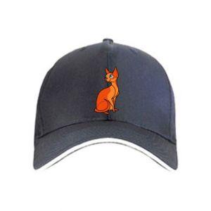 Czapka Red eared cat - PrintSalon