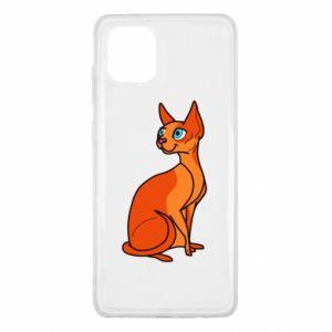Etui na Samsung Note 10 Lite Red eared cat