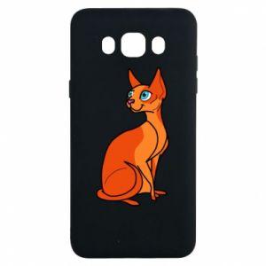 Etui na Samsung J7 2016 Red eared cat