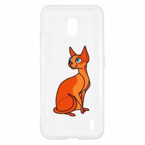 Etui na Nokia 2.2 Red eared cat
