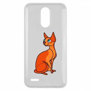 Etui na Lg K10 2017 Red eared cat