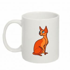 Mug 330ml Red eared cat