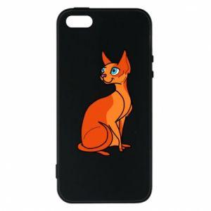 Etui na iPhone 5/5S/SE Red eared cat