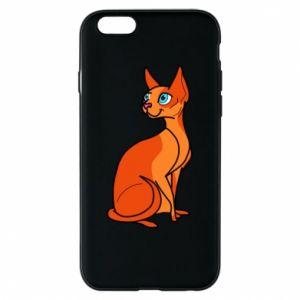 Etui na iPhone 6/6S Red eared cat