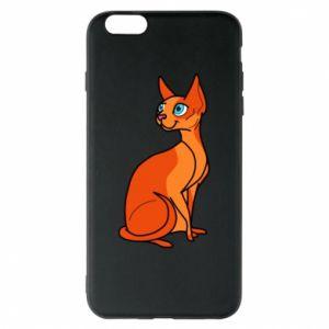 Etui na iPhone 6 Plus/6S Plus Red eared cat