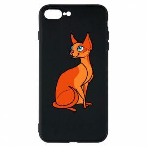 Etui na iPhone 8 Plus Red eared cat