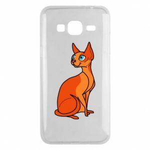 Etui na Samsung J3 2016 Red eared cat