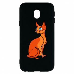 Etui na Samsung J3 2017 Red eared cat