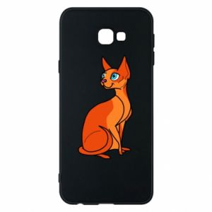 Etui na Samsung J4 Plus 2018 Red eared cat