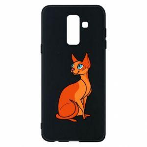 Etui na Samsung A6+ 2018 Red eared cat