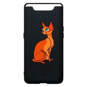 Etui na Samsung A80 Red eared cat