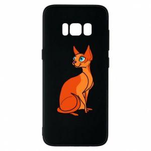 Etui na Samsung S8 Red eared cat