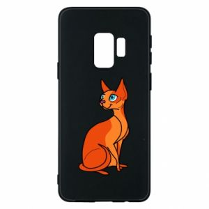 Etui na Samsung S9 Red eared cat