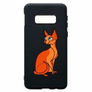 Etui na Samsung S10e Red eared cat